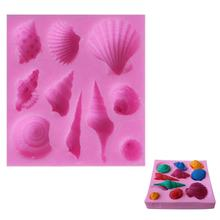 silicone cake decoration Ocean theme seashell mold