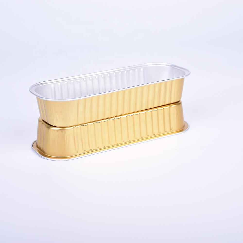 Différentes tailles de jetable de papier d'aluminium plat plateau en aluminium pour la nourriture