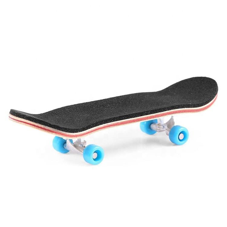 Youngsters [ Deck Skateboard ] Professional Mini Wooden Finger Deck Skateboard Wood Finger Skateboard Toys