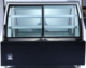 Front Open Curved Glass Anti-fog Bread Refrigerator Dessert Display Cooler Showcase