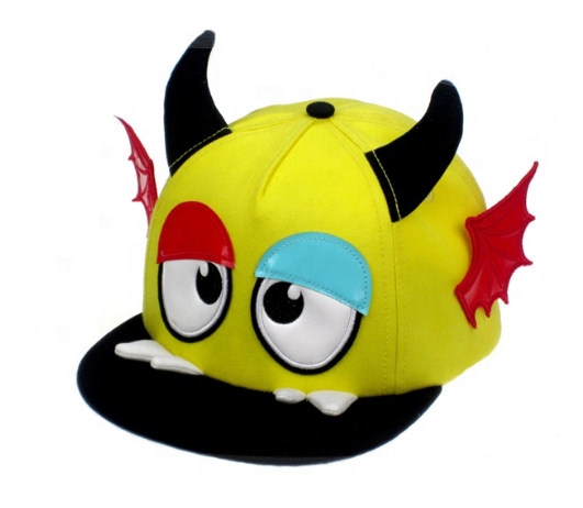OEM Crazy Hats for Kids 3D Pull Girls Baseball Cap Boys Cap and Hat