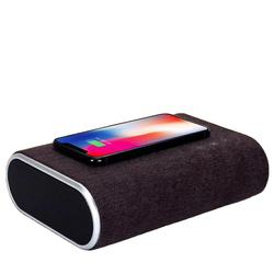 new products Portable batteries 2 in 1 Wireless Charging charger BT Speaker for Mobile Phones