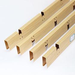 Suspended Ceiling System metal trellis ceiling grid types