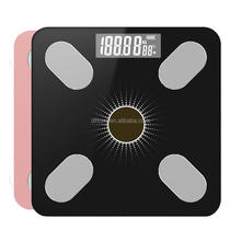 Solar Bluetooth Body Fat Scale Smart Bathroom APP Weight health Scales