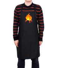 High quality adjustable waterproof polyester customized logo aprons for chef and kitchen