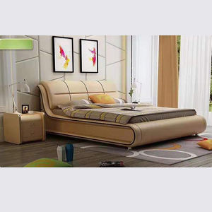 Cheap Modern Living Room Multi-Purpose Pu Leather Sofa Bed