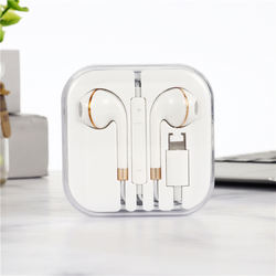 earphone Lightning Plug & In-ear Earphones Sport Earbuds Deep Richer Ba For iPhone
