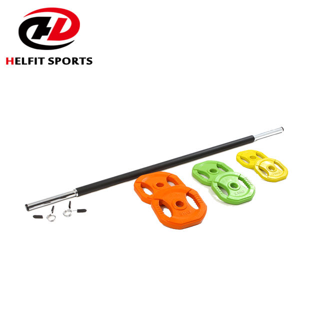 Gym Fitness New Design China Supplier Cross Fit Strength Barbell Body Pump Barbell