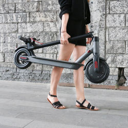EU Inventory 8.5inch Folding Electric scooter 25km/h EU drop shipping service