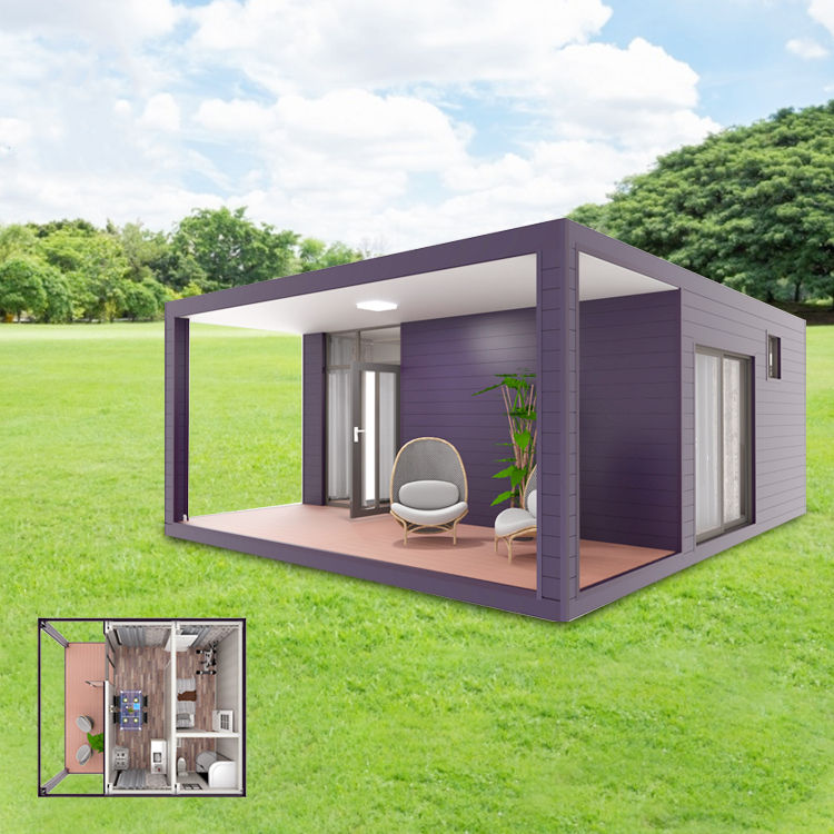 Low Cost Prefabricated House Build Light Steel Villa Tiny Size Container Home Well Design Resort Hotel