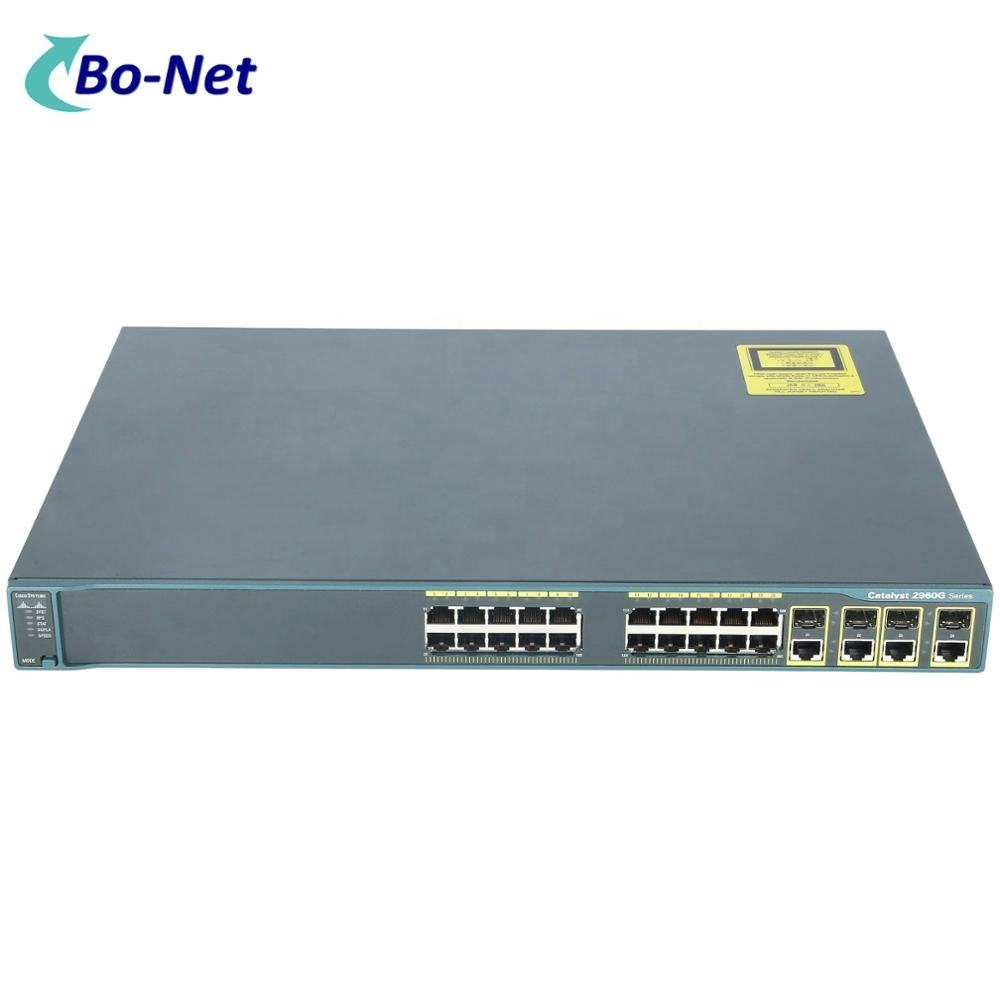 Switch de red Ethernet, WS-C2960G-24TC-L, GIGA