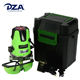 Dza Pgi-5 Cross Line Degree Horizontal Set With Tripod Red Laser Level 5 Lines 6 Points 360 Degrees