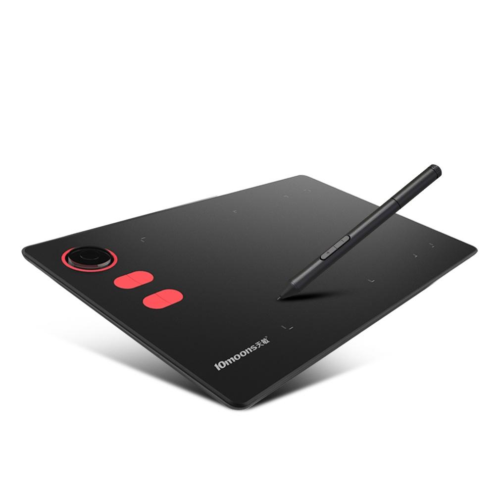 best 8192 levels G20 Graphic Tablet with Roller key