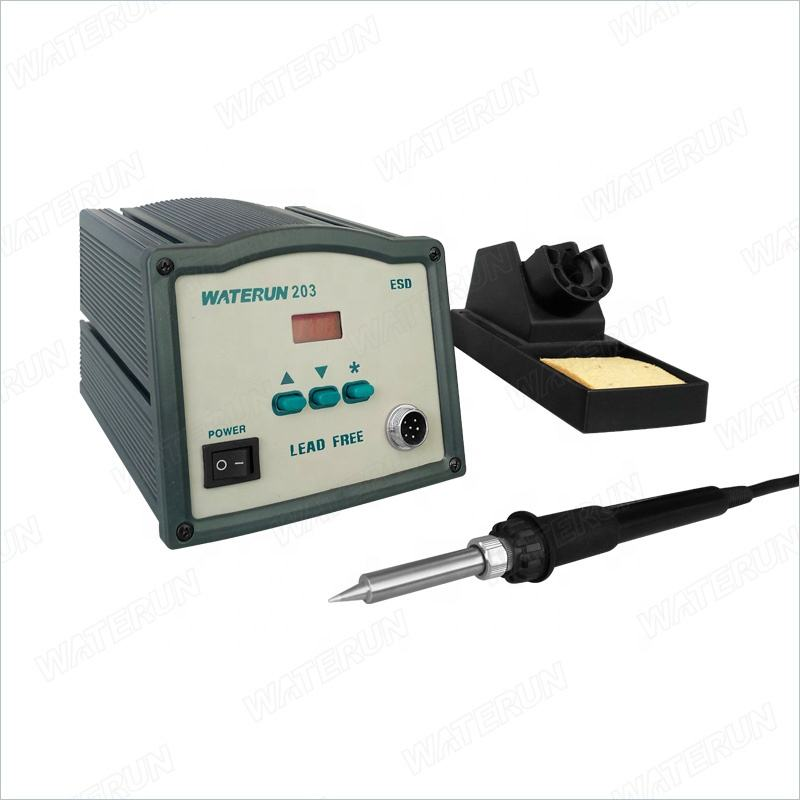 203H soldering station lead free soldering rework station with energy-saving