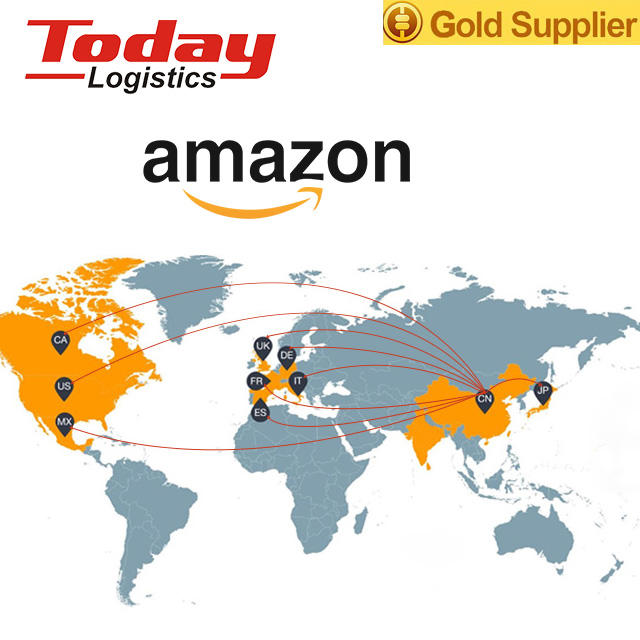 Cheap amazon fba freight forwarder shipping rates from china to usa door to door delivery service