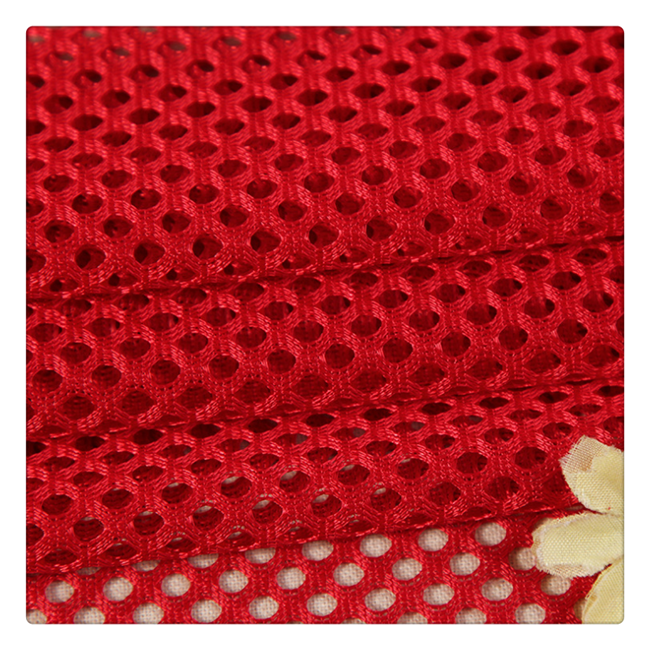 high quality warp knitted soft elastic tricot 100 polyester mesh lining fabric for garment