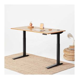 Frame-Black Rectangular Table Top 160x70 single motor height adjustable standing desk