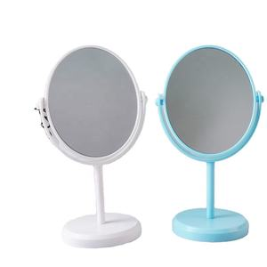 Mirrors Factory Custom Personalized Glass Frame Logo Style 1X 5X Magnifying Desktop Fashion Makeup Mirror Vanity Mirror