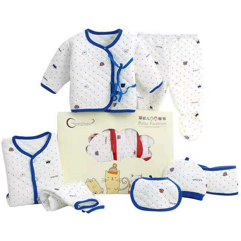 0-3 Months Infant Girls Boys Clothes Full New Born Baby Clothing Gift Sets
