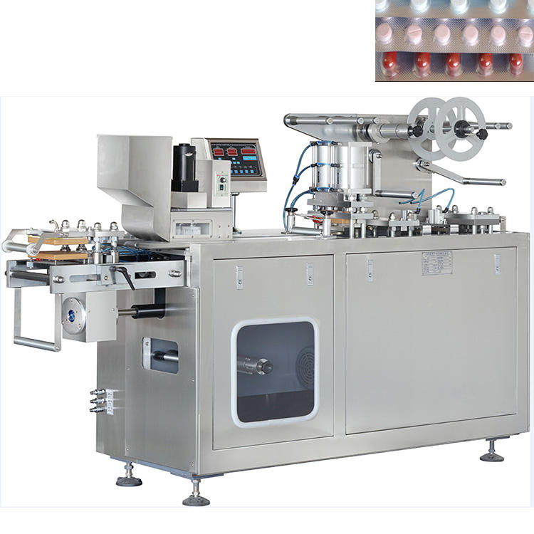 DPP-150 Al/PVC & Alu/Alu capsule tablet pill automatic small blister packing machine