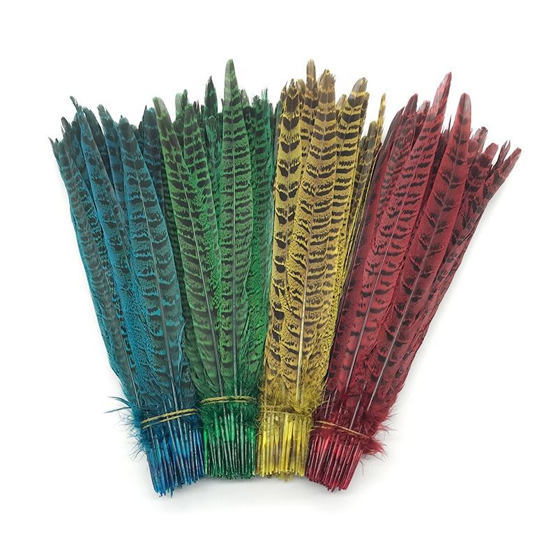 Rare 10-100pcs 24-28 inches//60-70 cm Natural Color Golden Pheasant Tail Feathers