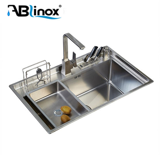 Double bowl 304 stainless steel kitchen sink
