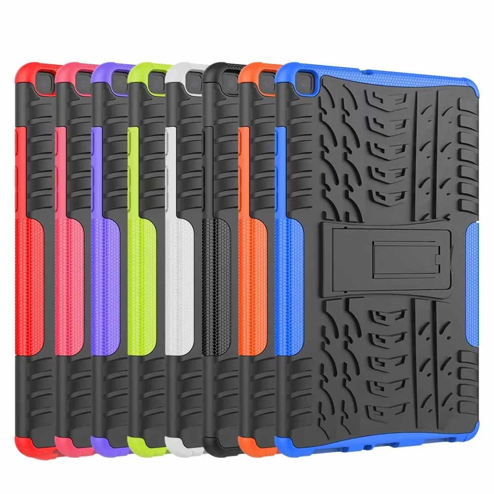 Heavy Duty 2 In 1 T290 Hybrid Rugged Silicon Case Voor Samsung Galaxy Tab Een 8.0 2019 SM-T290 SM-T295 T295 t297 Tablet Case
