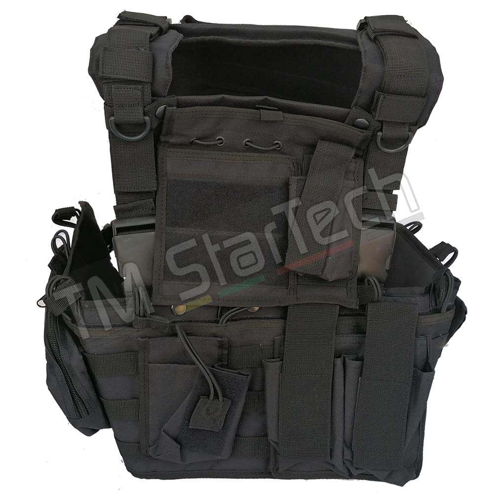 Recon Harness Tactical Vest Army Plate Carrier Military Molle Vest