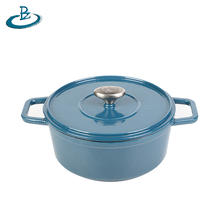 Hot sale Cast iron Enamel cookware soup cooking pot