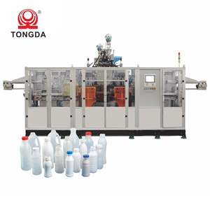 Tongda full automatic extrusion 500ml plastic bottle blowing moulds