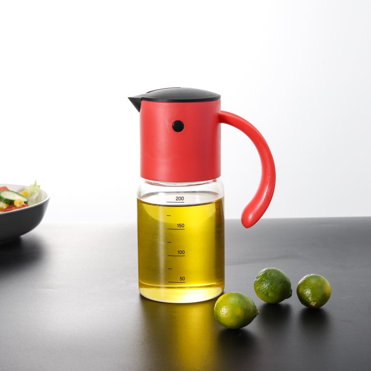 REDDOT BPA free Olive Oil Bottle Borosilicate Vinegar and Oil Dispenser For Kitchen