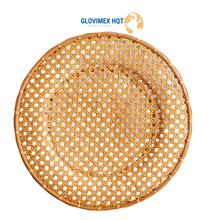Best Selling  Bamboo Rattan Seagrass Water Hyacinth Placemat  tablemats coffee cup mats Knitted Multi-Purpose Asia Style