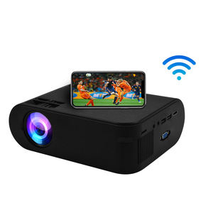 Home Cinema AN21 Mini Proyektor 720 P Android Proyektor 4 K Proyektor dengan TV HD USB TF Port Layar Cermin