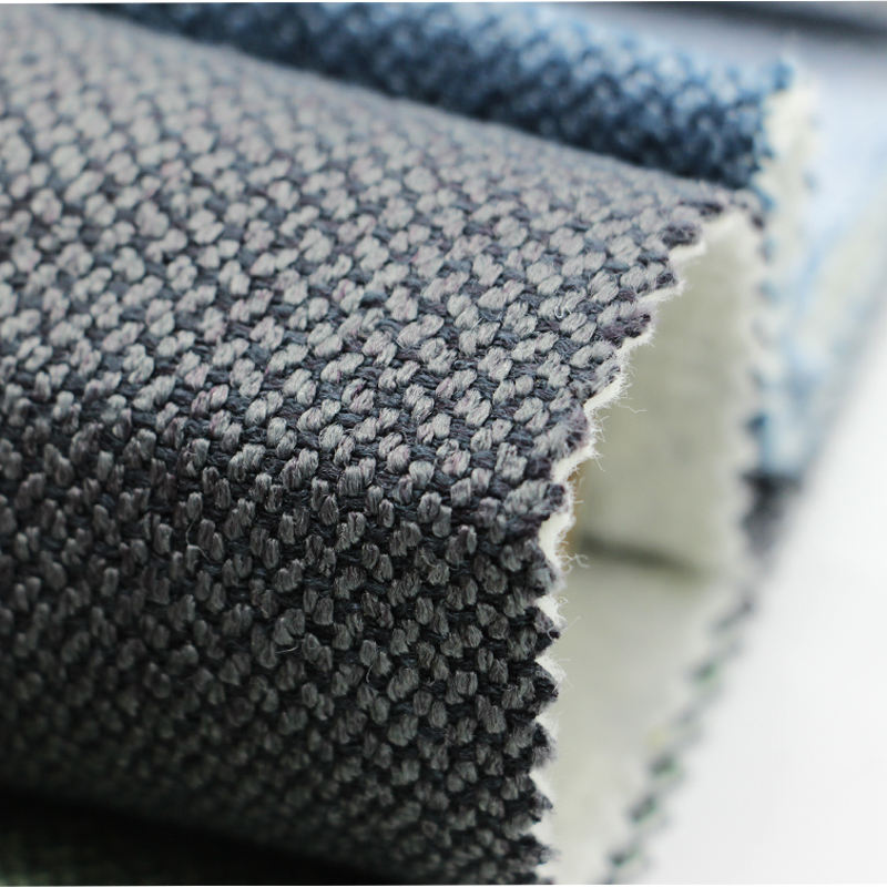 china supplier wholesale heavy duty polyester dobby pattern water proof linen look dog bed upholstery cloth material fabric