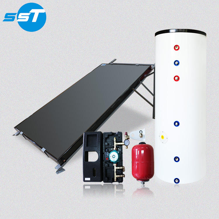 Pressure test rohs 200l solar boiler electric hot water tank