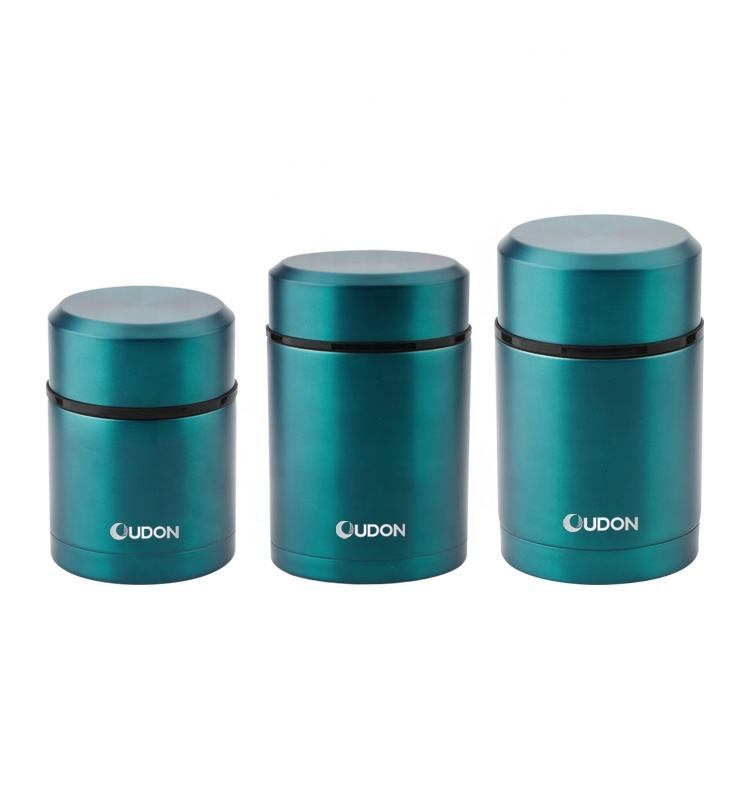 18/8 stainless steel baby thermos food jar lunch box for hot food insulated vacuum thermal flask