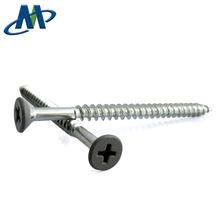 Factory Price White Galvanized Phillips Self Tapping  Flat Head Wood screw