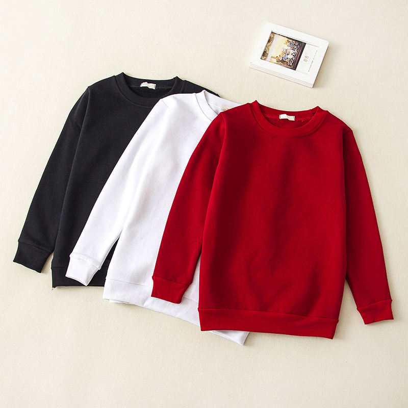 Children's Clothing Baby Boy Girl Fashion Sweatshirt Cotton O-Neck Long Sleeve Sweatshirts Kids Clothes 0-12T