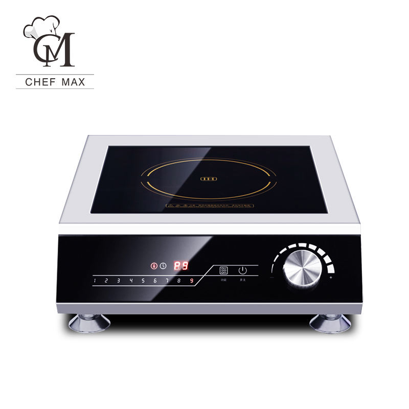 Commercial Customized 5KW Touch Knob Induction Cooktop Induction Cooker