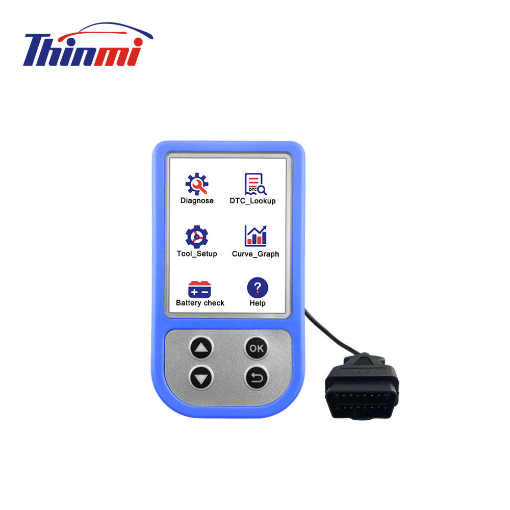 Carro de <span class=keywords><strong>Diagnóstico</strong></span> OBD Universal Thinmi Marca Motor Code Reader ODB2 TM310 Plug and Play Auto Scanner Ferramentas De <span class=keywords><strong>Diagnóstico</strong></span>