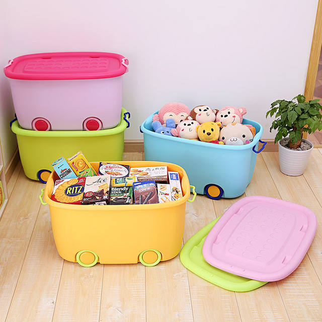 colourful children toys box plastic kids toy Storage box for toys