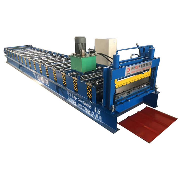 Trapezoidal profile steel Roofing and Wall Sheet Roll Forming Machine/Roof Tile Making Machine