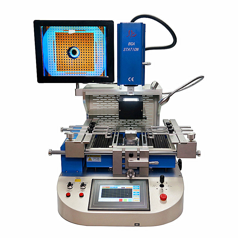 Automatic ly g720 bga ic chips remove desoldering bga rework station with bga microscope HD Optical alignment system