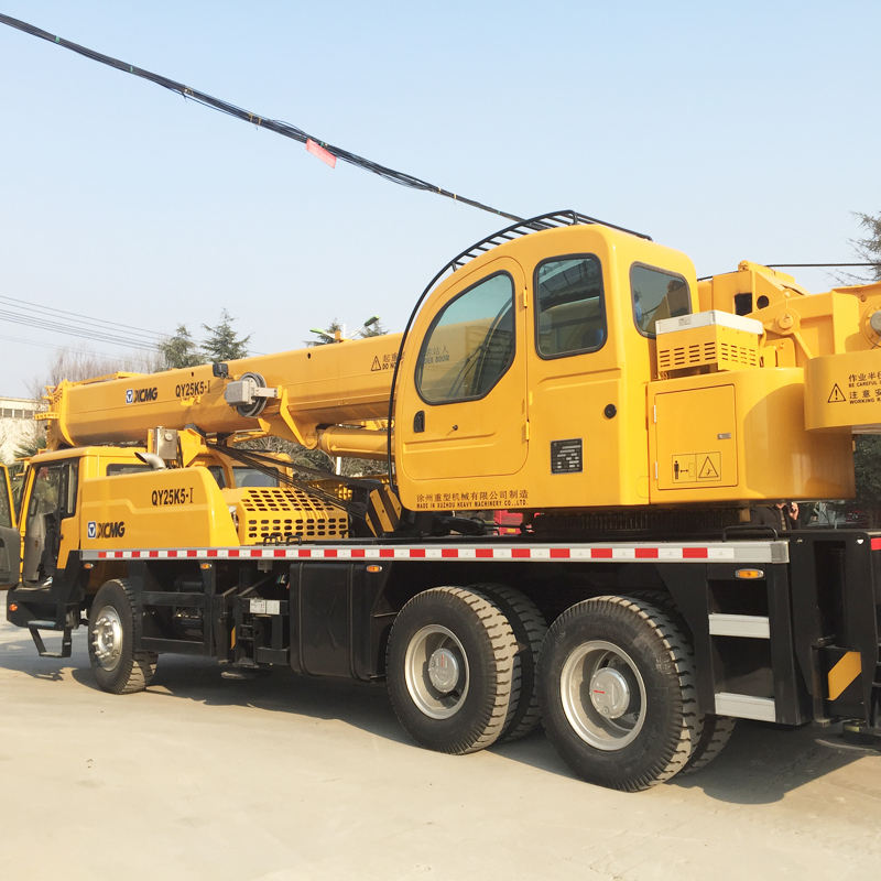 Hot Selling XCMG 25 Ton Truck Crane Mobile Crane QY25K5-I for Sale
