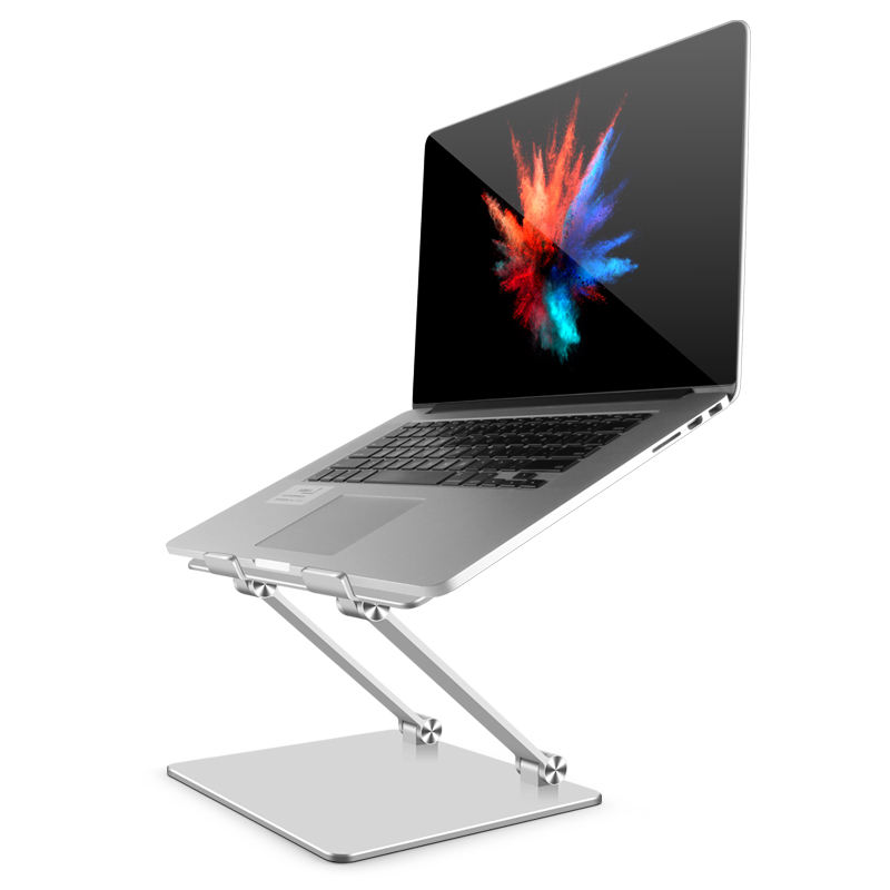 2020 Ergonomic Portable Aluminum Laptop Stand Laptop adjustable Riser Notebook Holder Stand Compatible with 10-18 inch laptop