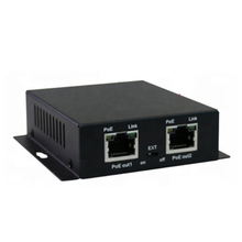 1 to 2 1 to 4 Ports 1000Mbps Long Range Gigabit  POE and Network Ethernet Extender compatible with POE  or Ethernet switches