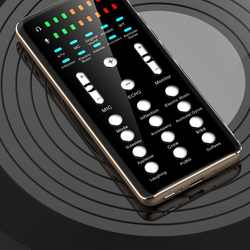 T3 High-quality mobile phone external sound card for live broadcast   karaoke mixer  live phone sound card