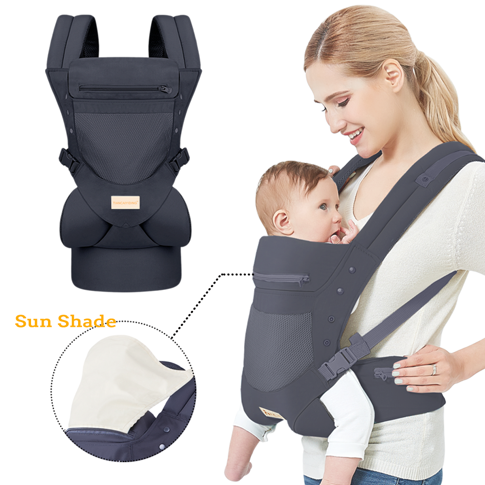 2021 Amazon Hot Selling Baby trage Säuglings trage mit Hood Head Protect Pad für Neugeborene Custom ized Acceptable