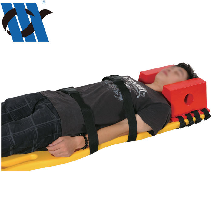 BDST302 Wholesale OEM ODM Manufacturer Suppliers Stretcher Spine Board With Straps For Head Immobilizer
