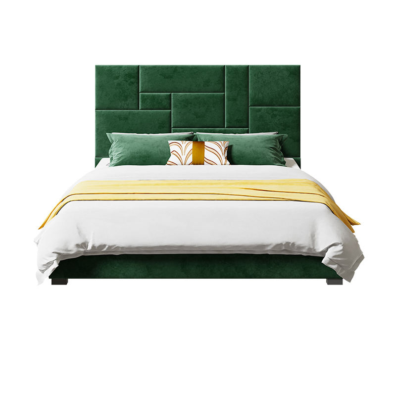 Classics King Size Queen Size Ultimate Latest Designs Bed Luxury Fabric Modern Furniture Soft Bed